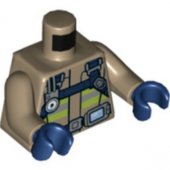LEGO 6251905 FIREMAN'S TORSO lego-6251905-fireman-s-torso ici :