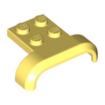 LEGO 6334148 MUDGUARD 3X4 - COOL YELLOW