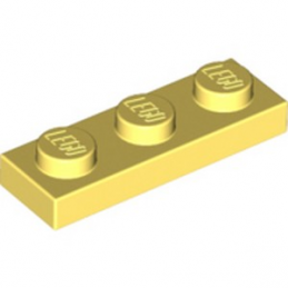 LEGO 6296492 PLATE 1X3 - COOL YELLOW