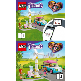 Instructions Lego Friends 41443