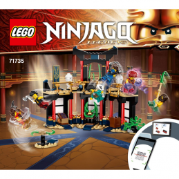 Instructions Lego Ninjago 71735