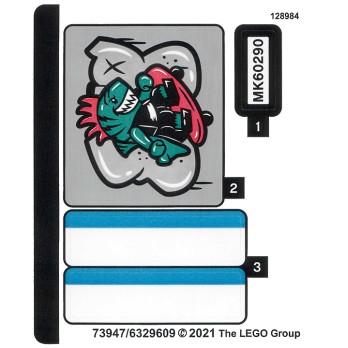 Stickers Lego City 60290