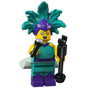 Figurine Lego® série 21 - L'artiste de cabaret
