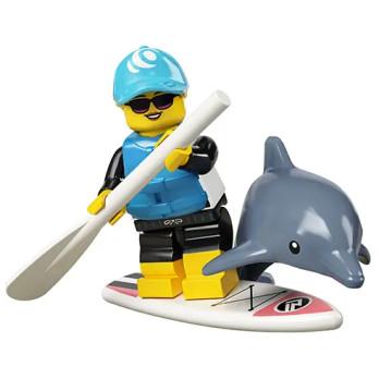 Figurine Lego® Série 21 - La surfeuse