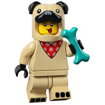 Figurine Lego® Série 21 - Le type en costume de carlin