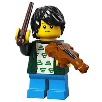 Figurine Lego® Série 21 - L'enfant violoniste