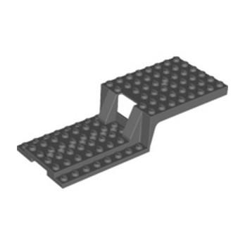 LEGO 6334384 CHASSIS 6X16X2 - DARK STONE GREY