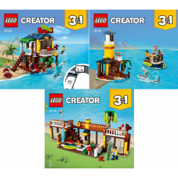 Instructions Notice / Instruction Lego Creator 31118