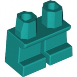 LEGO 6322126 MINI LEG - BRIGHT BLUEGREEN lego-6322126-mini-leg-bright-bluegreen ici :