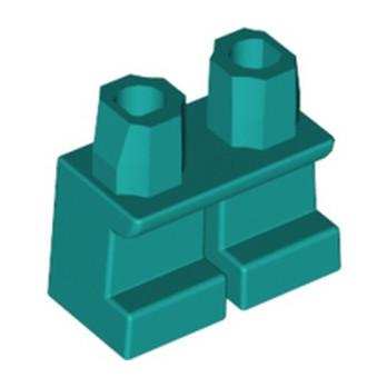 LEGO 6322126 MINI LEG - BRIGHT BLUEGREEN