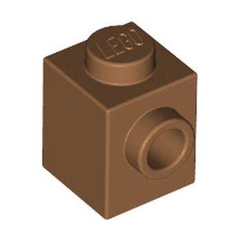 LEGO 6314190 BRICK 1X1 W. 1 KNOB - MEDIUM NOUGAT lego-6314190-brick-1x1-w-1-knob-medium-nougat ici :