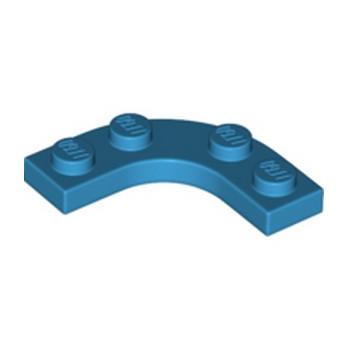 LEGO 6331338 PLATE 3X3, 1/4 CERCLE - DARK AZUR lego-6331338-plate-3x3-14-cercle-dark-azur ici :