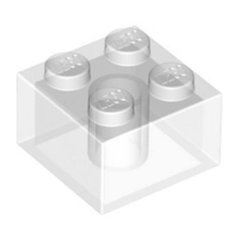 LEGO 6239418 BRICK 2X2 - TRANSPARENT lego-6239418-brick-2x2-transparent ici :