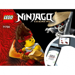 Instructions Lego Ninjago 71730