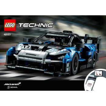 Instructions Lego Technic 42123