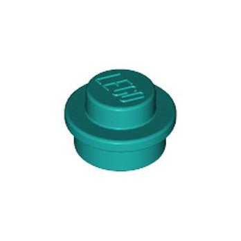 LEGO 6325978 ROND 1X1 - BRIGHT BLUE GREEN
