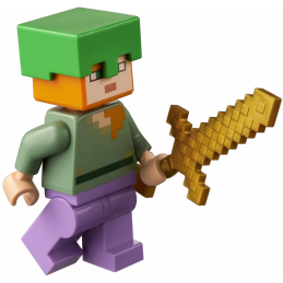 Minifigure Lego®  Minecraft - Alex