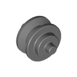 LEGO 6005463 HUB FOR FORK - DARK STONE GREY -6005463-hub-for-fork-dark-stone-grey ici :