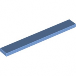 LEGO 6117716 PLATE LISSE 1X8 - MEDIUM BLUE