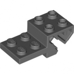 LEGO 6325271 WHEEL BEARING 2X4X1, W/ FUNCTION - DARK STONE GREY lego-6325271-wheel-bearing-2x4x1-w-function-dark-stone-grey ici :