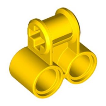 LEGO 6336280 TECHNIC CROSS BLOCK 2X1 - YELLOW lego-6336280-technic-cross-block-2x1-yellow ici :