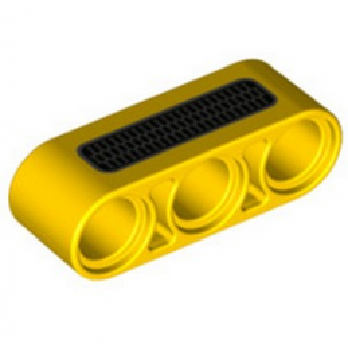 LEGO 6335195 TECHNIC 3M BEAM PRINTED - YELLOW
