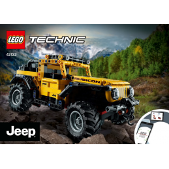 Instructions Lego Technic 42122
