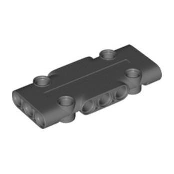 LEGO 6321715 FLAT PANEL 3X7 - DARK STONE GREY
