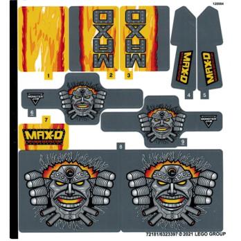 Stickers Lego Technic 42119