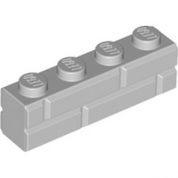 LEGO 6314891 BRICK 1X4 - MEDIUM STONE GREY