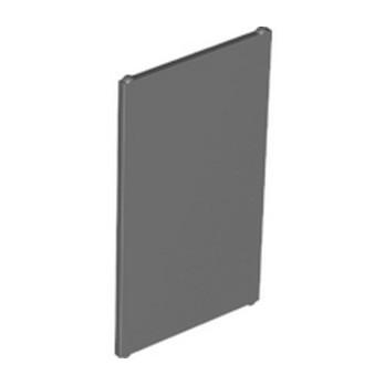 LEGO 6332623 GLASS FOR WINOW 1X4X6 - DARK STONE GREY lego-6332623-glass-for-winow-1x4x6-dark-stone-grey ici :