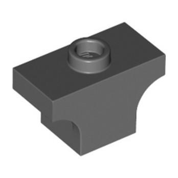 LEGO 6292417 WINDOW ARCH BRICK - DARK STONE GREY lego-6292417-window-arch-brick-dark-stone-grey ici :