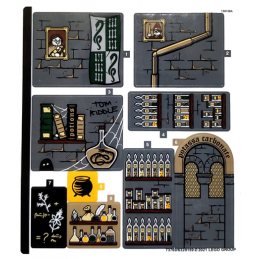 Stickers Lego Harry Potter 76383