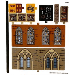 Stickers Lego Harry Potter 76382