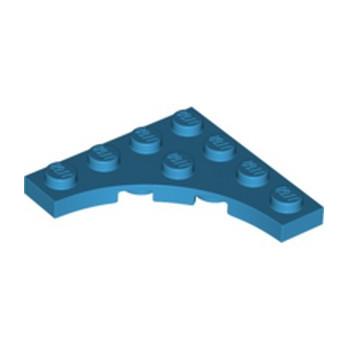 LEGO 6327683 PLATE 4X4, W/ ARCH - DARK AZUR