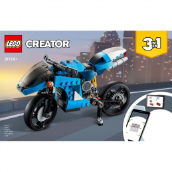 Instructions Lego Creator 31114
