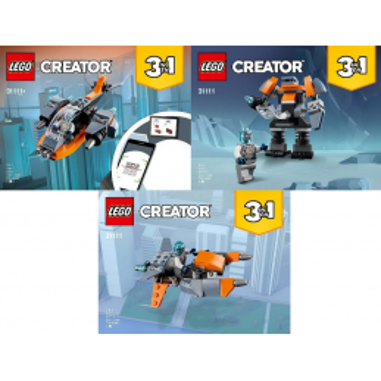 Instructions Lego Creator 31111