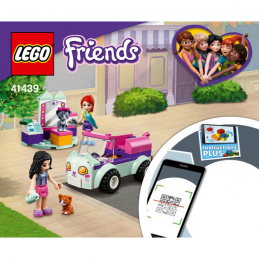 Instructions Lego Friends 41439
