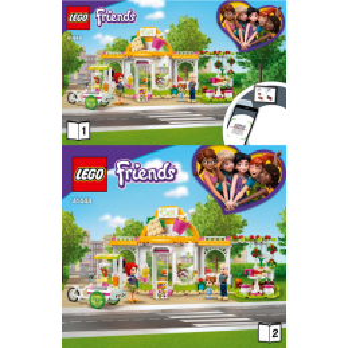 Instructions Lego Friends 41444