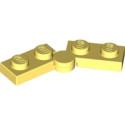 LEGO 6296491 HINGE PLATE 1X2 - COOL YELLOW