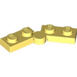 LEGO 6296491 HINGE PLATE 1X2 - COOL YELLOW lego-6296491-hinge-plate-1x2-cool-yellow ici :