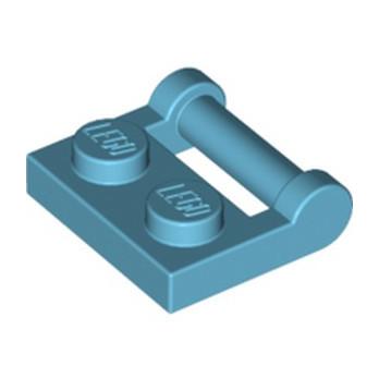 LEGO 6236582 PLATE 1X2 W. STICK 3.18 - MEDIUM AZUR lego-6236582-plate-1x2-w-stick-318-medium-azur ici :