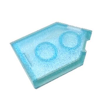 LEGO 6339228 FLAT TILE 2X3 W/ANGLE  - TRANSPARENT BLUE OPAL lego-6339228-flat-tile-2x3-wangle-transparent-blue-opal ici :