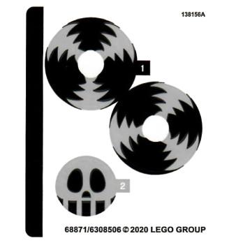 Stickers Lego® Minions - 75549 stickers-lego-minions-75549 ici :