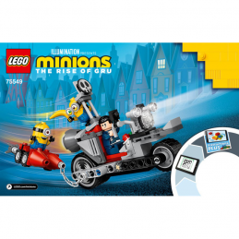 Instructions Lego® Minions 75549