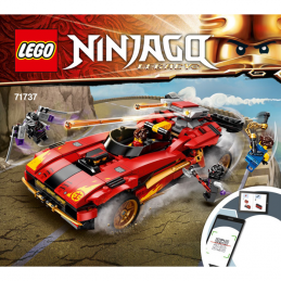 Instructions Lego® Ninjago Legacy 71737
