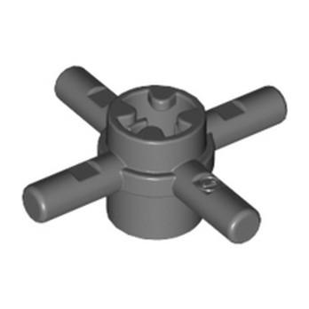 LEGO 6316692 COMBI HUB W. STICK Ø 3.2 - DARK STONE GREY