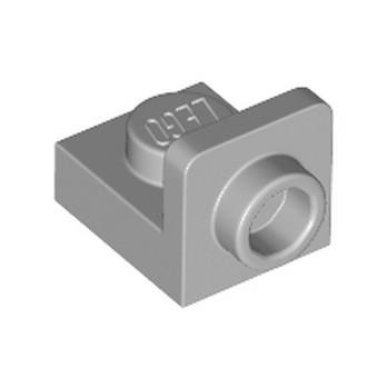 LEGO 6335328 PLATE 1X1, W/ 1.5 PLATE 1X1, UPWARDS - MEDIUM STONE GREY
