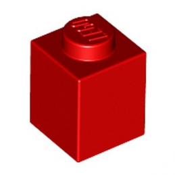 LEGO 300521 BRIQUE 1X1 - ROUGE
