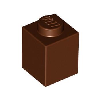 LEGO 4211242 BRICK 1X1 - REDDISH BROWN